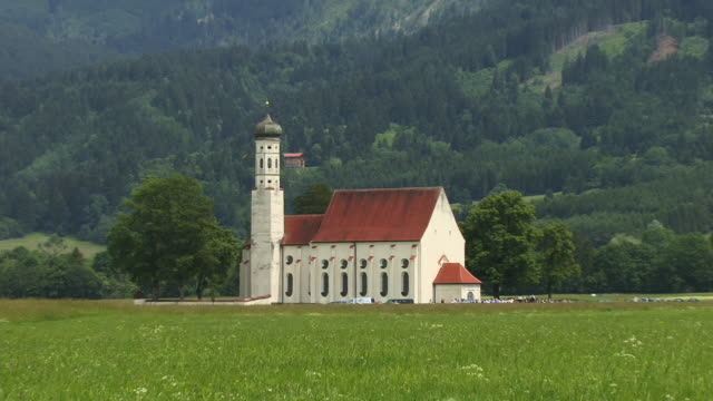 WS, ZO, St. Koloman Church, Schwangau, Bavaria, Germany