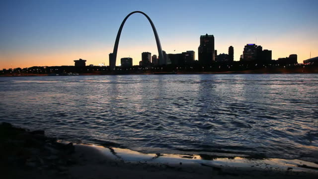 st louis missouri - arch architectural feature stock videos and b-roll footage