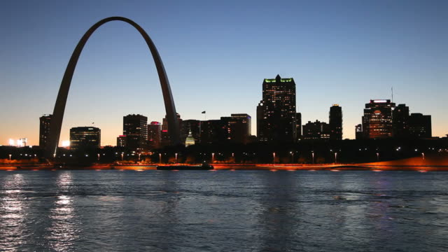 st. louis missouri - arch architectural feature stock videos and b-roll footage