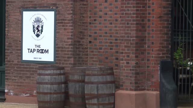 ktvi – st louis mo us exterior and signage of schlafly tap room and microbrewery on tuesday july 7 2020 - arrow symbol stock videos & royalty-free footage