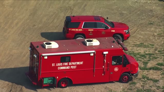st. louis, mo, u.s. - st. louis fire engines during law enforcement training on mississippi river, on wednesday, july 28, 2021. the u.s. coast guard,... - helicopter point of view stock videos & royalty-free footage