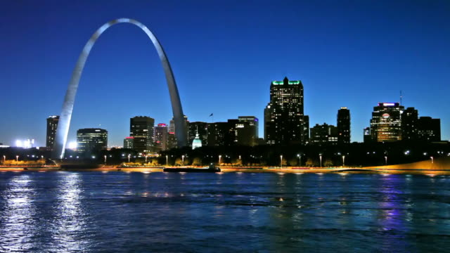 st louis - arch architectural feature stock videos and b-roll footage