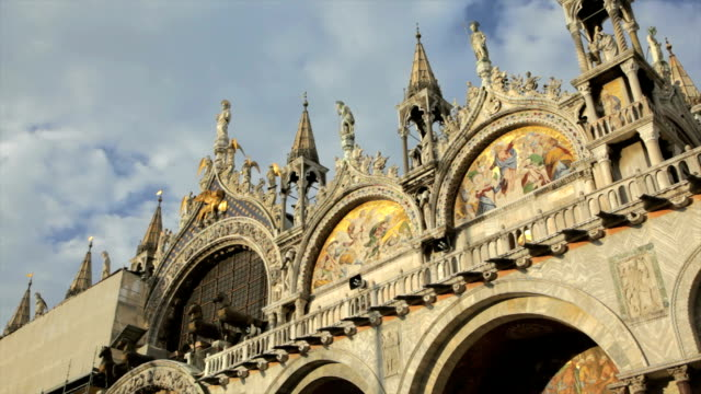 basilica di san marco in venice - mosaic stock videos and b-roll footage