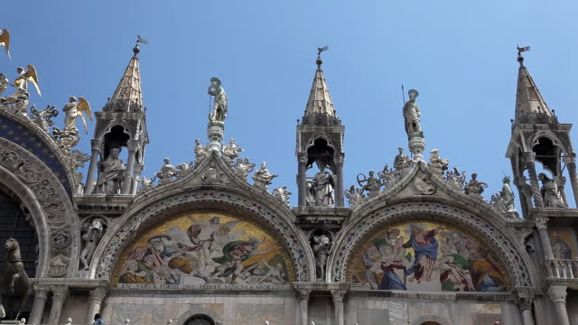 st marks in venice - mosaic stock-videos und b-roll-filmmaterial