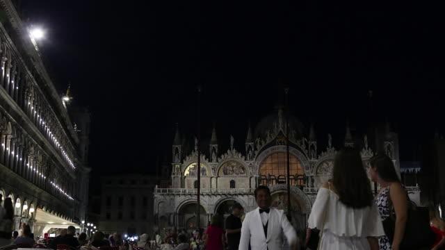 St. Mark's Square at night, Venice