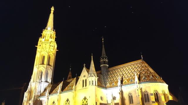 st. matthias church - eastern european culture stock videos & royalty-free footage