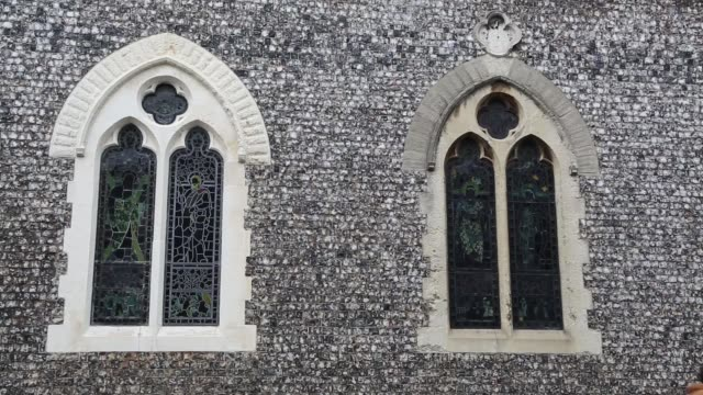 st michael's church in the english town of lewes is where anglo american revolutionary and free thinker thomas paine was married in 1771 situated in... - spire stock videos & royalty-free footage