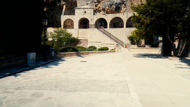 st. neophytos monastery cyprus - republic of cyprus stock videos and b-roll footage