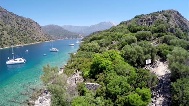 St. Nikolaus Insel & Gemiler Bucht von Ölüdeniz. Fethiye / Türkei.