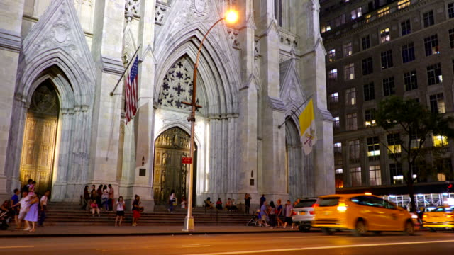 st. patrick's cathedral - gothic style stock videos & royalty-free footage