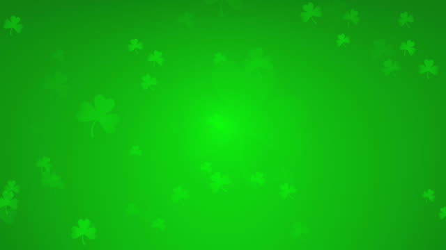 st patrick's day - st. patrick's day stock videos & royalty-free footage