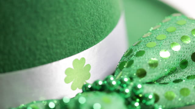 st patricks day - st. patrick's day stock videos & royalty-free footage