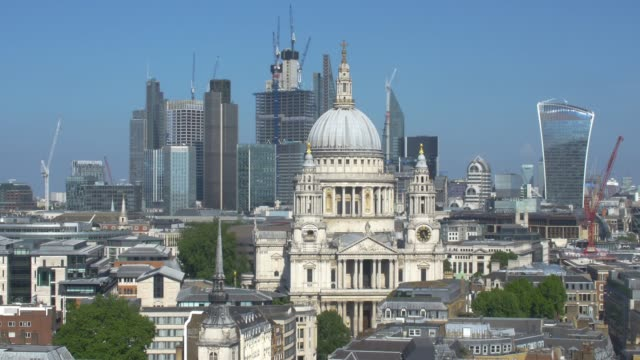 St Paul's and the City of London Skyline