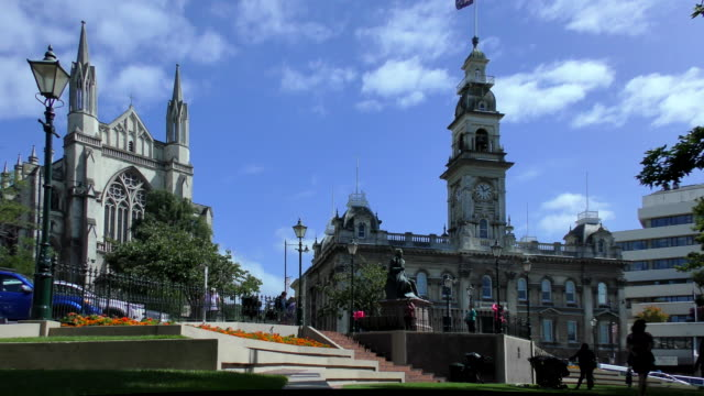 st paul's cathedral - dunedin, new zealand - digital enhancement stock videos & royalty-free footage