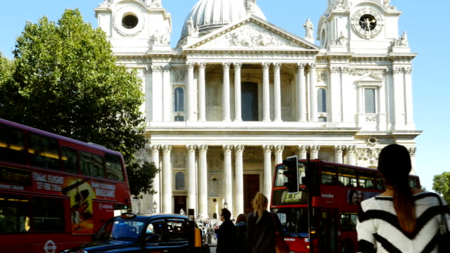 St. Paul's Cathedral From Ludgate Hill