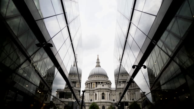 st paul's cathedral in london england uk - column stock videos & royalty-free footage
