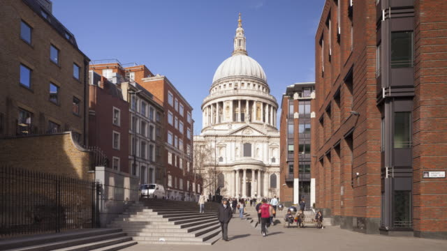 St Paul's cathedral, London, England.