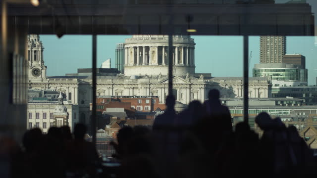 st paul's cathedral, london - art gallery stock videos & royalty-free footage