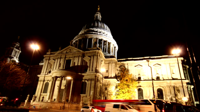 St Paul's Cathedral timelapse HD
