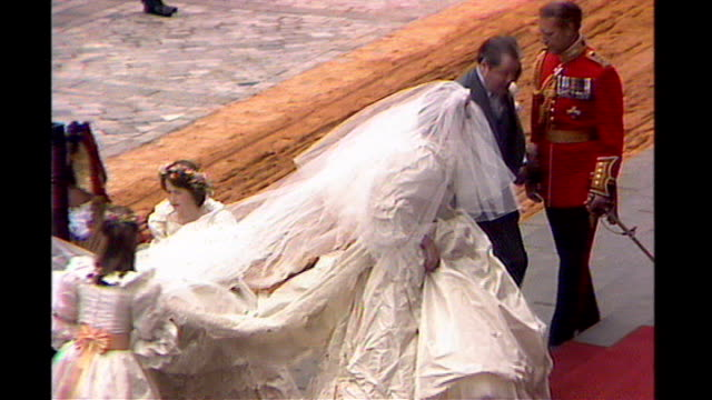 St Paul's Cathedral Wedding of Prince Charles and Princess Diana