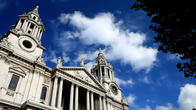 st pauls - st. paul's cathedral london stock videos & royalty-free footage