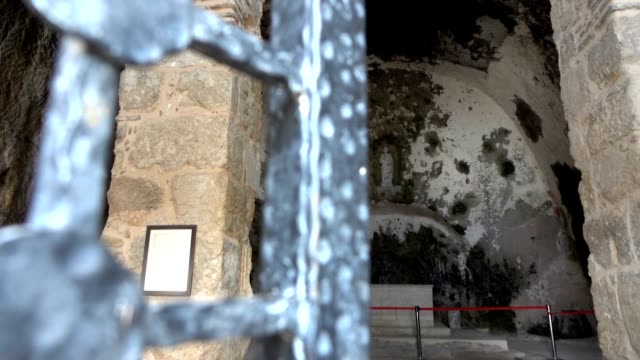 st. peter antakya church in hatay, turkey - hatay stock videos & royalty-free footage