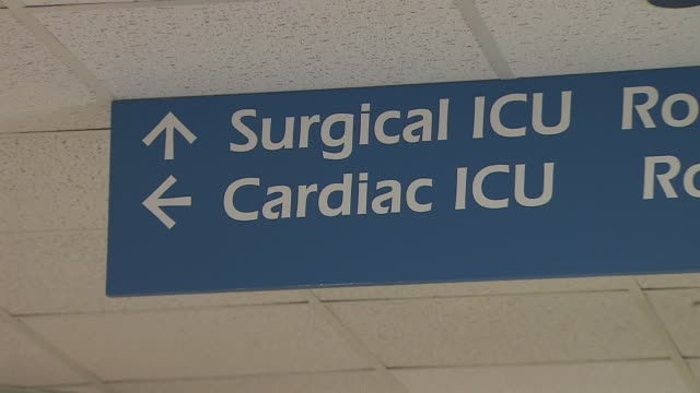 st peter's hospital emergency unit surgical and cardiac intensive care unit on december 23 2013 in new york new york - cardiac conduction system stock videos and b-roll footage
