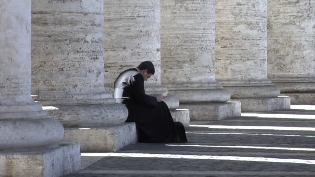 st. peter's square - priest stock videos & royalty-free footage
