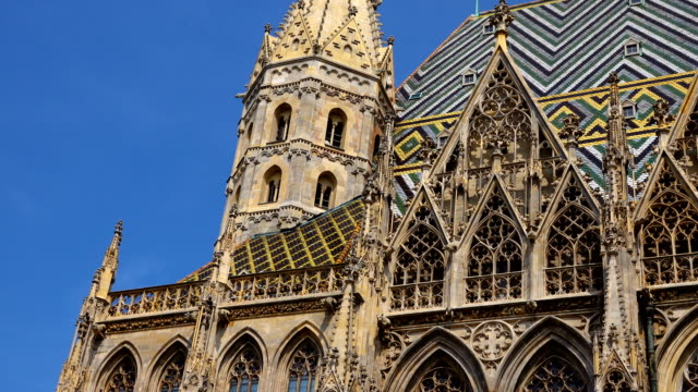 st. stephen's cathedral - town hall government building stock videos & royalty-free footage