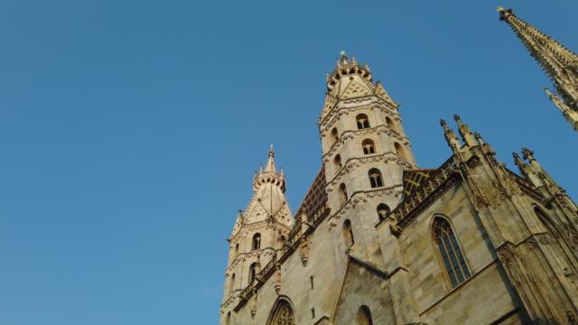 stockvideo's en b-roll-footage met st. stephen's cathedral - oostenrijkse cultuur