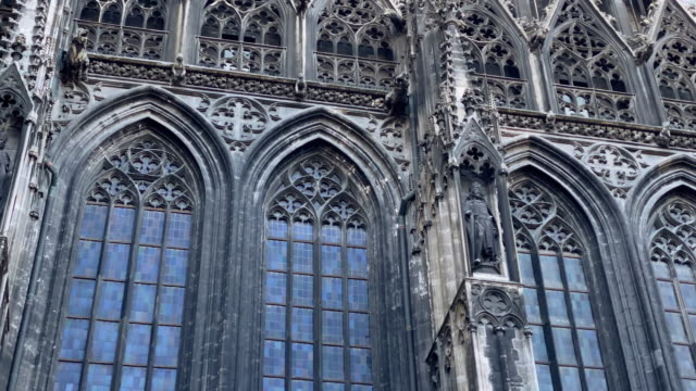 st. stephens cathedral vienna - gothic style stock videos & royalty-free footage