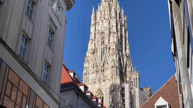 st. stephens cathedral vienna - traditionally austrian stock videos & royalty-free footage