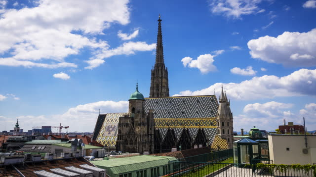st. stephen's cathedral, vienna - vienna stock videos & royalty-free footage