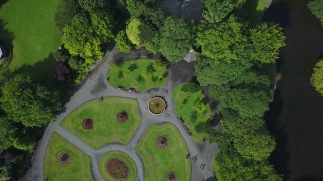 st. stephens green, dublin city centre, dublin 2, ireland. - building entrance stock videos & royalty-free footage