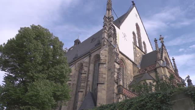 st. thomas church - johann sebastian bach stock-videos und b-roll-filmmaterial
