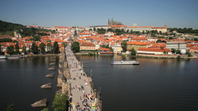 St. Vitus Cathedral, Charles Bridge and the Castle District, Prague, Czech Republic