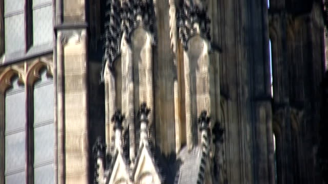 st. vitus cathedral, prague (hd) - hradcany castle stock videos & royalty-free footage