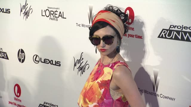 stacey bendet at project runway 10th anniversary party at highline on july 17 2012 in new york new york - project runway stock videos and b-roll footage