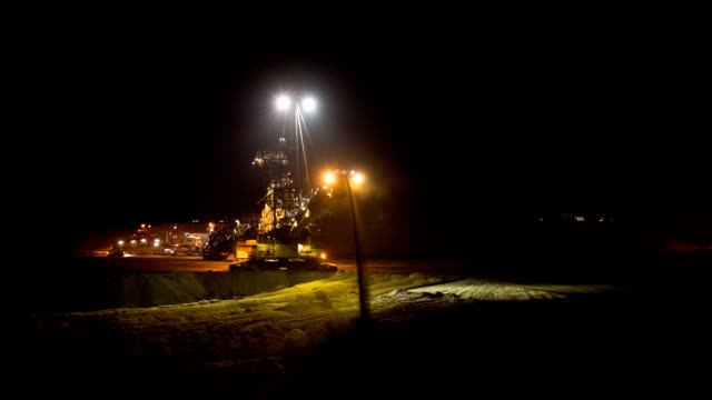 stacker in surface mine - surface mine stock videos and b-roll footage