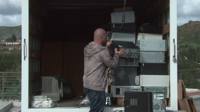Stacking Ewaste Computers