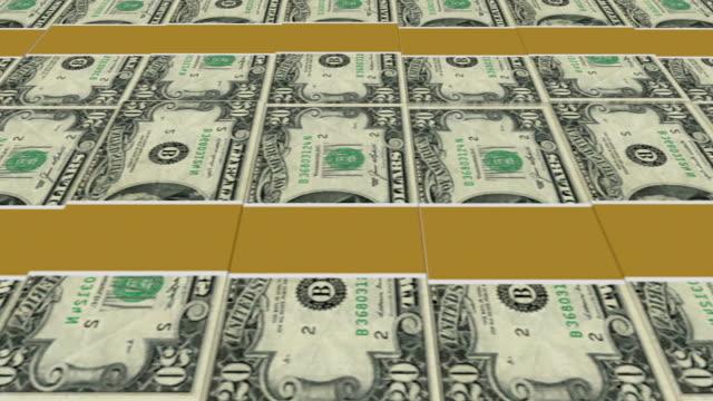 人々の 20 ドル紙幣-ループ、hd - 金銭に関係ある物点の映像素材/bロール
