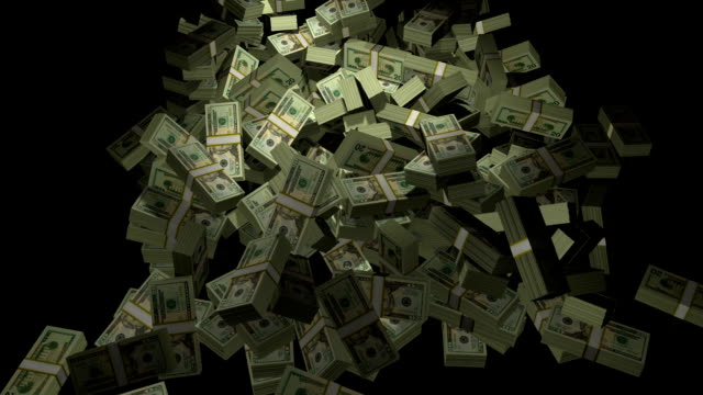 stacks of cash - criminal stock videos & royalty-free footage