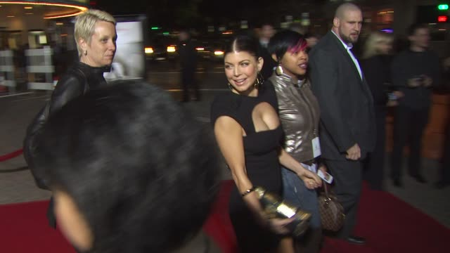 stacy 'fergie' ferguson at the 'nine' special screening at westwood ca - fergie duhamel stock videos and b-roll footage
