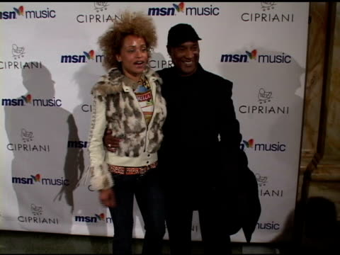 stacy j and paul mooney at the mariah carey record release party on april 21 2005 - mariah carey stock videos and b-roll footage