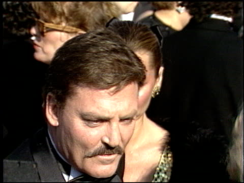 Stacy Keach at the 1986 Emmy Awards at the Pasadena Civic Auditorium in Pasadena California on September 21 1986