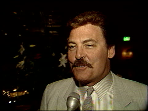 Stacy Keach at the 1988 Emmy Awards Dinner at the Four Seasons Hotel in Los Angeles California on August 23 1988