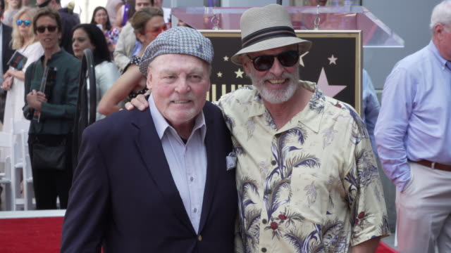 vídeos y material grabado en eventos de stock de atmosphere stacy keach honored with a star on the hollywood walk of fame on july 31 2019 in hollywood california - stacy keach