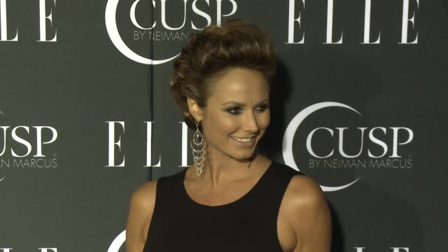 stockvideo's en b-roll-footage met stacy keibler at 5th annual elle women in music celebration presented by cusp by neiman marcus at avalon on april 22, 2014 in hollywood, california. - neiman marcus