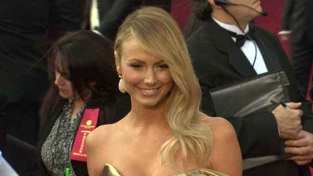 Stacy Keibler at 84th Annual Academy Awards Arrivals on 2/26/2012 in Hollywood CA