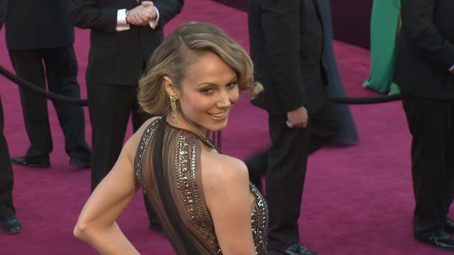 Stacy Keibler at 85th Annual Academy Awards Arrivals on 2/24/13 in Los Angeles CA